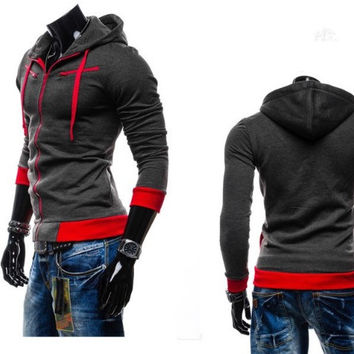 Fleece Slim Fit Hoodie
