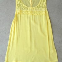 Lace Provence Tunic [5424] - $23.00 : Vintage Inspired Clothing & Affordable Dresses, deloom | Modern. Vintage. Crafted.
