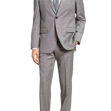 Ted Baker London Jay Trim Fit Solid Wool Suit | Nordstrom