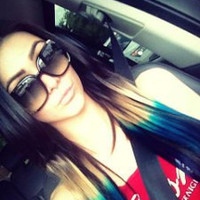 """Peacock Ombre, Black Hair extensions with a quick fade to brown,  green and blue,  7 Pieces,18""""/Customize your Base."""