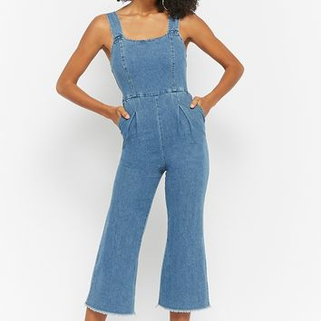 Pleat-Front Overalls