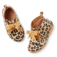 Carter's Animal Print Ankle Booties
