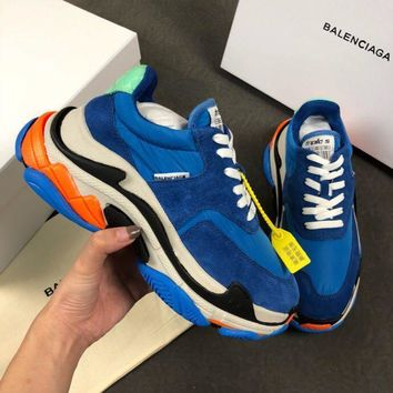Balenciaga Triple-S Xia Gu jogging shoes-21