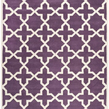 Safavieh Chatham Transitional Indoorarea Rug Purple / Ivory