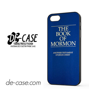 The Book Of Mormon For Iphone 5 Iphone 5S Case Phone Case Gift Present