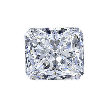 Radiant loose diamond 0.80 ct. sparkling diamond loose
