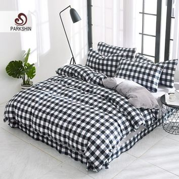 Parkshin Comforter Bedding Sets Bed Sheet Set Duvet Cover Bedspread Linen Cotton  Adult Double Queen King Size Bed Linens Set