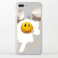 Acid Egg Clear iPhone Case by paulosilveira