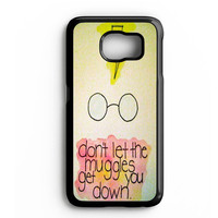 Harry Potter Quote art Samsung Galaxy S4 Galaxy S5 Galaxy S6 Edge Case | Note 3 Note 4 Note 5 Case