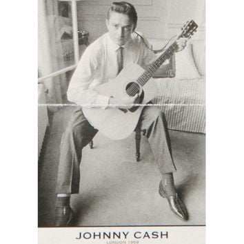 Johnny Cash Import Poster