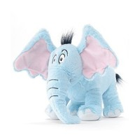 "Dr. Seuss Horton Hears A Who 12"" Plush Elephant"