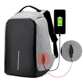 Antitheft External USB Charging Backpack 16inches