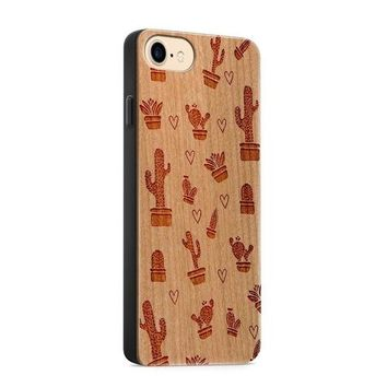 Wood  - Cactus Love Phone Case