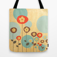 The Gathering Tote Bag by Robin Curtiss