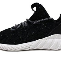 adidas Tubular Doom Sock Primeknit Mens In Core Black/White