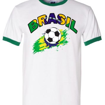BRASIL WORLD CUP T SHIRTS