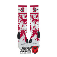 Custom Nike Elite Socks - Stanford Cardinal Custom Nike Elites - Stanford Socks, Custom Elites, Stanford University