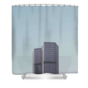 Urban Architecture - Tower 42, London, United Kingdom - Shower Curtain