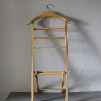 French Vintage Valet Stand Clothes Rail