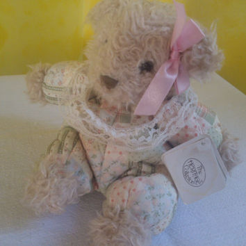The Heritage Collection Ganz bros. Teddy Bear Stuffed Toy Bear Girl Teddy Bear, Free Shipping !!!