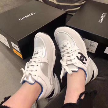 Chanel Women Fashion Sneakers Sport Shoes