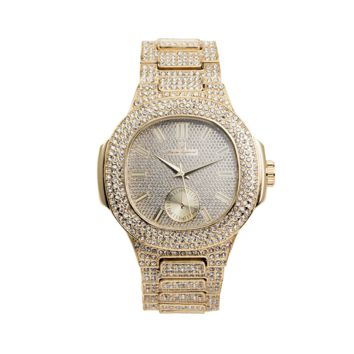 Royal Iced Out Watch