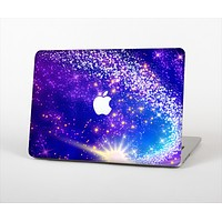 The Glowing Pink & Blue Comet Skin Set for the Apple MacBook Air 11""