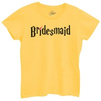 Womens Bridesmaid Tshirt