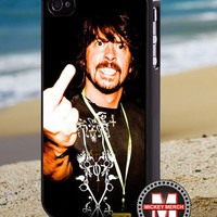 Dave grohl middle finger - iPhone 4/4s/5 Case - Samsung Galaxy S3/S4 Case - Blackberry Z10 Case - Ipod 4/5 Case - Black or White