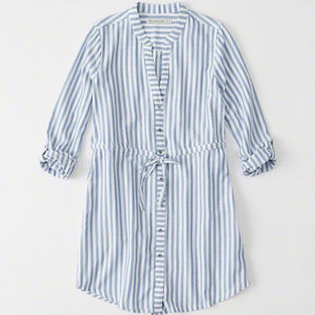 Womens Classic Shirtdress | Womens New Arrivals | Abercrombie.com