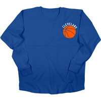 Cleveland Basketball Spirit Jersey - Royal Blue