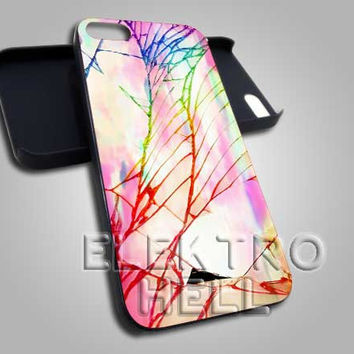 Cracked Out Pastel - iPhone 4/4s/5 Case - Samsung Galaxy S3/S4 Case - Black or White