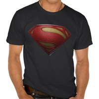 Man Of Steel Red S-Shield