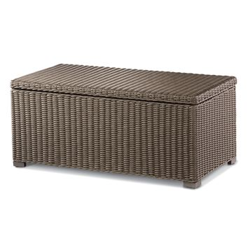 Threshold™ Heatherstone Wicker Patio Storage Trunk Coffee Table