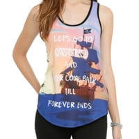 Disney Peter Pan Till Forever Ends Girls Tank Top