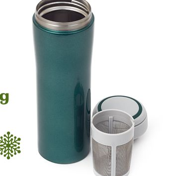 Midnight Green Timolino (16 oz) - Large Stainless Steel Travel Mug | DavidsTea