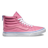 Iridescent Eyelets SK8-Hi Slim Zip | Shop at Vans