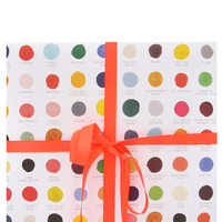 Color Swatches Wrapping Paper