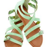 Art Camp Counselor Sandals | Mod Retro Vintage Sandals | ModCloth.com