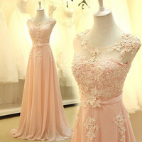 5075 2016 Elegant Prom Dresses Sweetheart Evening Gowns Graduation for Girl Pink Custom Size 2 4 6 8 10 12 14 16 18 20 22 24 26