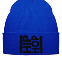 hip hop embroidery hat - Beanie Cuffed Knit Cap
