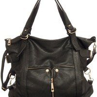 Waverly Coal Large Cross-body Convertible Tote