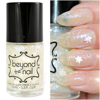 Morning Snowfall Glitter Nail Polish