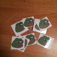Pepe Stickers - Set of 8 Stickers