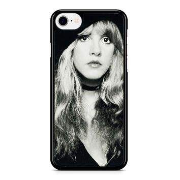 Stevie Nicks Black And White iPhone 8 Case