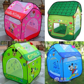 Ultralarge Baby Play Tent For Kids Play Tent House Children Toys Tent Indoor Outdoor Baby Play House Child Brithday Gift ZP35