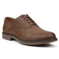 IZOD Saddle Men's Perforated Oxford Shoes