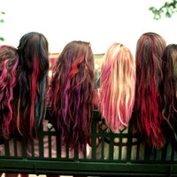 Colored Hair Chalk - Temporary Color Pastels, Pick Your Color, Custom Colors