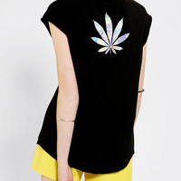 Urban Outfitters - Truly Madly Deeply Faded Foil Muscle Tee