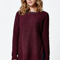 LA Hearts Side Zip Tunic Sweater at PacSun.com